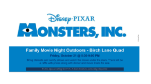 Family Movie Night Outdoors - Birch Lane Quad @ 1600 Birch Lane | Davis | California | United States