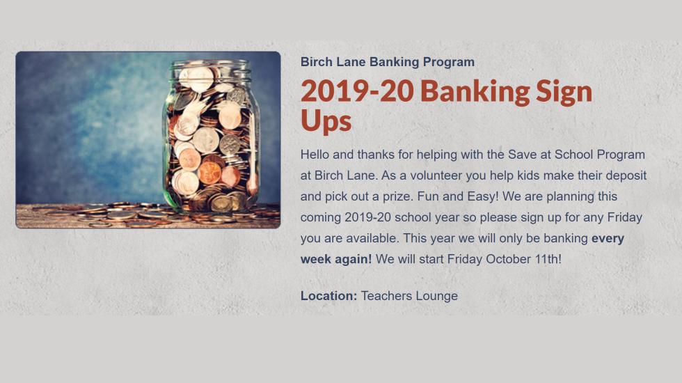 Birch Lane Banking