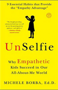 RAISING UNSELFIES!  Why empathy is key to real success, happiness and resilience and proven ways to nurture it in kids, Lecture by Michele Borba, Ed. D. @ Brunelle Theatre, Davis High School   Davis   California   United States